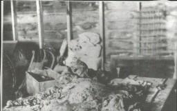 Makeshift morgue